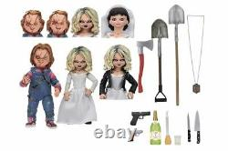 1/12 Scale Child's Play Bride of Chucky Horror Doll Duluxy Edition PVC Figure