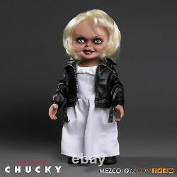 15 Childs Play Mega Scale Bride of Chucky Mezco Tiffany Talking Doll New Horror