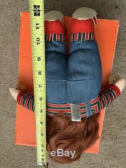 1990 Childs Play 2 Chucky Doll Universal Studios Steve Smith Stuffed HTF