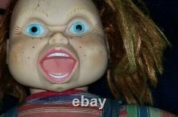 1996 Childs Play Chucky Doll 24 in Universal City Studios Spencer Gifts horror