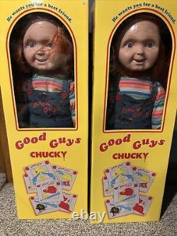 2 DOLLS! Child's play 2 Chucky good guy doll life size 30 Inch Halloween