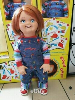2 set Chucky (Sweater + coff) Child's Play Chucky doll 11 life size prop