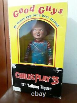 2006 NECA Childs Play Talking Chucky Good Guy Doll Horror Figure 12 inches Tall