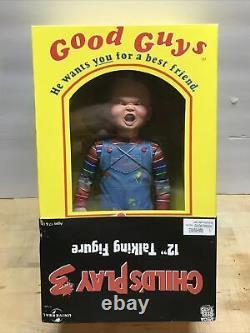 2006 NECA Childs Play Talking Chucky Good Guys Doll Horror Figure 12 Tall