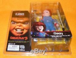 2006 Neca Reel Toys Cult Classics Series 4 Child's Play 3 Chucky 5 Figure Moc