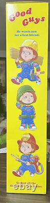 30 Good Guys Chucky Doll Child's Play 2 Spirit Halloween NIB God Its Creepy