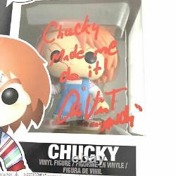 Alex Vincent Signed Chucky Funko Pop Child's Play 2 Beckett BAS Autographed