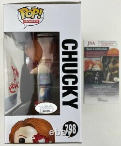 BRAD DOURIF signed Funko POP CHUCKY Child's Play 3 Walmart Exclusive Horror JSA