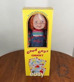 BRAND NEW! Chucky Doll Life-Size 30 Child's Play 2 Good Guys Spirit Halloween
