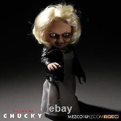 BRIDE OF CHUCKY TALKING TIFFANY 15 MEGA SCALE DOLL Sound Child's Play NEW MEZCO