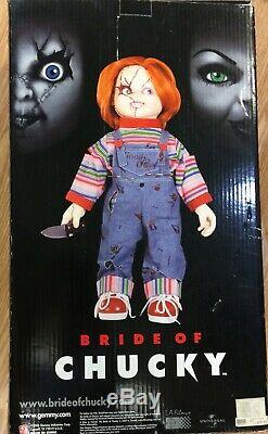 Box And Stand only Animated Bride Of Chucky Doll Spencer's Child's Play