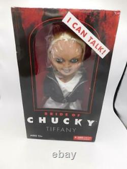 Bride Of Chucky Tiffany Child's Play 15 Mezco Talking Mega Scale Doll NRFB NEW