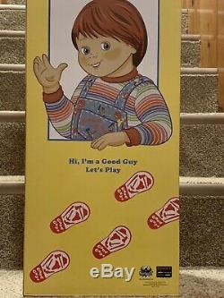 CHILDS PLAY 2 CHUCKY Good Guy Doll LIFE SIZE FIGURE 30 Inch BRAND NEW