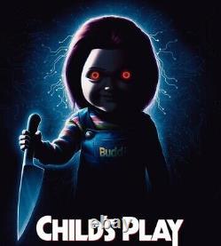 CHILDS PLAY Screen Used Gabe Death Kaslan Hub Movie Prop bride seed of Chucky 2