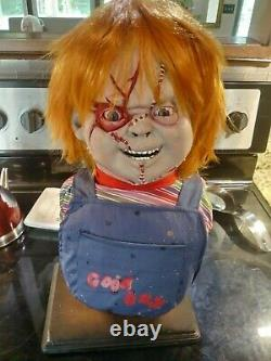 CHUCKY CHILD'S PLAY prop life sized statue horror figure MONSTER