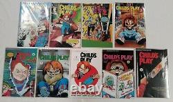 Child's Play #1,2,3,4,5+child's Play2 #1,2,3+bonus Lot Of 9innovation1991