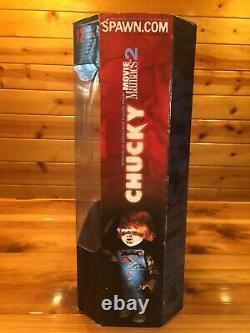 Child's Play 2 CHUCKY 12 Figure McFarlane Toys Movie Maniacs Doll Bride of NEW
