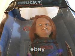 Child's Play 2 CHUCKY 12 Figure Mcfarlane Toys Movie Maniacs Doll 2001 NEW NIB