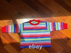 Child's Play 2 Chucky 11 Screen Used Replica Prop Custom Good Guys Sweater Doll