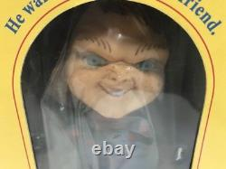 Child's Play 2 Chucky Doll Good Guys DREAM RUSH BOBBIN HEAD BANK Toy Japan