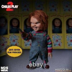 Child's Play 2 Menacing Chucky Mega Figure 15 Inch Mezco Toyz Free Shipping
