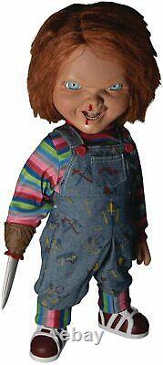 Child's Play 2 Menacing Chucky Talking Mega-Scale 15-Inch Doll by Mezco Toyz