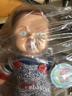 Child's Play 3 CHUCKY 12 Plush Doll 1991 Universal Promotional Toy NWT Bagged