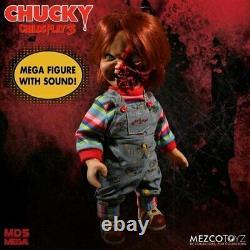 Child's Play 3 Chucky Pizza Face 15 Talking Action Figure-MEZ78020