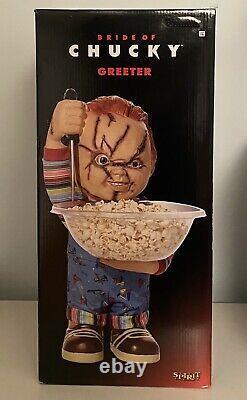 Child's Play Bride of Chucky 19.5 Door Greeter Halloween Horror Good Guys Doll