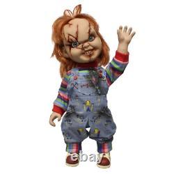 Child's Play Chucky Scarred 15 Talking Action Figure Mezco Toyz