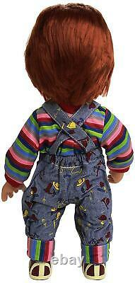Child's Play MAY142406 Chucky Evil Face Good Guy with Sound Doll, 15-Inch