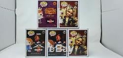 Child's Play Set 5 Funko Pop! Figures Bride of Chucky Tiffany Mint