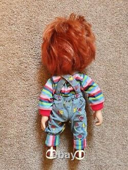 Child's Play Sneering Chucky Talking 15 Mega-Scale Doll Mezco Official