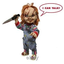 Child's Play Talking Mega Scale 15 Scarred Chucky New