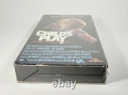 Child's Play (VHS, 1989, 1st Release) Brand New Factory Sealed! Chucky NIP Rare