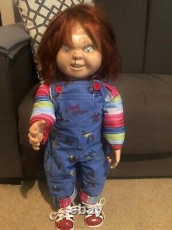 Childs Play 2 Lifesize Chucky Tenoch Art Silicone Face 11 Custom Good Guy Doll