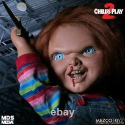 Childs Play 2 Menacing Chucky Talking Mega Scale 15 Doll Mezco DAMAGED BOX