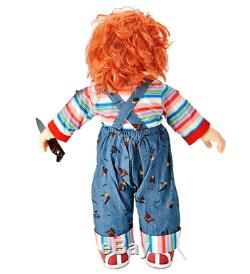 Childs Play 24 Chucky Doll & 24.5 Tiffany Doll Halloween Toy Decoration
