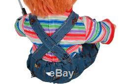 Childs Play 24 Talking Chucky Doll Halloween Animatronic Decoration NEW
