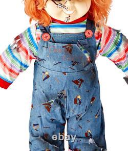 Childs Play Chucky 2 Doll 25 Tall Halloween Prop New
