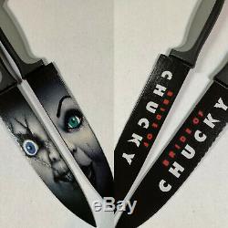 Childs Play Chucky 6 Knife Set Good Guy Doll Brad Dourif