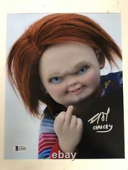 Childs Play Chucky Brad Dourif Signed Autographed Photo Beckett Coa # Y23592