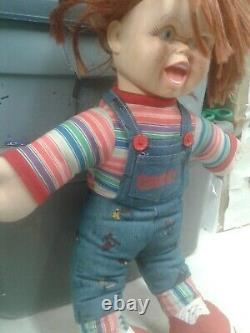 Childs Play Chucky Doll 24in Universal City Studios Spencer 96 movie /Halloween