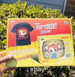 Childs Play Chucky Mini Backpack And Funko Boxed Tee Tshirt Size Small In Hand