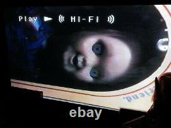 Childs Play VHS Horror Chucky (Blockbuster Rental) Super Rare! Plays Great
