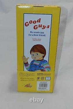 Chucky 12 Dream Rush Good Guy Doll Childs Play withHat & patch Toy Figure UNOPEN