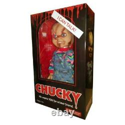 Chucky 15-Inch Scarred Doll with Sound Bride of Chucky Childs Play