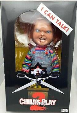 Chucky Action Figure 15 Childs Play Talking Menacing Chucky Doll Mezco