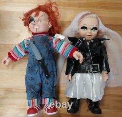Chucky & Bride Of Chucky 24 Tiffany Doll LIFE SIZE Child's Play Spencers