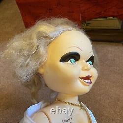 Chucky & Bride Of Chucky 24 Tiffany Doll LIFE SIZE Child's Play Spencers Lot
